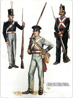 Osprey - Men at Arms 056 - The Mexican - American War 1846 - 48 Mexican Army, Mexican American War, American Civil War, American History, Military Art, Military History, Us Army Uniforms, American Uniform, Native American Models
