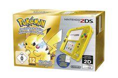 NEW Nintendo 2DS +Pokemon Yellow Version