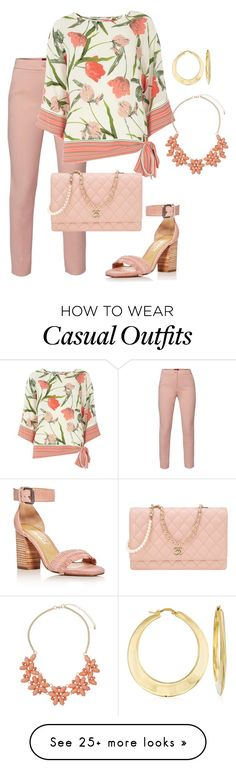 """Casual Sunday Services"" by bigskydreams on Polyvore featuring WtR, Billie & Blossom, Chanel, Splendid, Dorothy Perkins and Ross-Simons"
