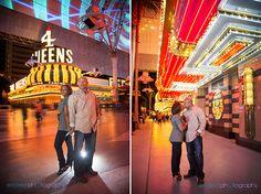 Fremont Street Photo Session, Las Vegas Wedding Photographer, Downtown Las Vegas Engagement Photo Session, Las Vegas Photographer, Exceed Photography, Las Vegas Couple Photography