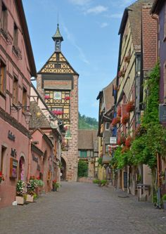 Riquewihr, France: Alsace Wine Region
