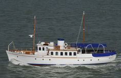 1936 Classic Yacht, Bounty. By Diver969