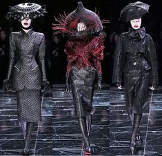 "from Women's Autumn/Winter 2009 ""The Horn Of Plenty"" collection by Alexander McQueen (one of the most brilliant collections ever created...in my humble opinion)"