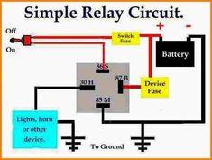 90 12 V Ideas Relay Diagram Automotive Electrical