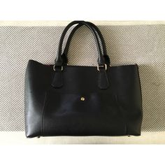 T O T E Black with red interior. Has a leopard detachable bag inside. Bags Totes