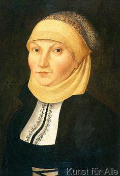 Lucas Cranach der Ältere - Katharina von Bora/ Cranach d.Ä.