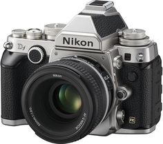 NIKON  Df DSLR Camera with 50 mm f/1.8 G Standard Lens Price: £ 1998.00 Boasting a striking appearance, classic personality and digital photography advancements, the Nikon Df DSLR Camera with 50 mm f/1.8 G Standard Lens gives you great quality, versatility and reliability, this fantastic camera will have you reigniting your passion for photography. Breathtaking photography The Nikon's...