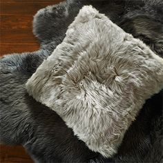 luxe rug and pillow, Arhaus