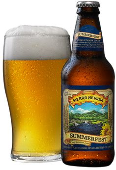 Sierra Nevada Summerfest® | a good, old-school lager. really nice finish. would be great at a ball game. www.sierranevada.com