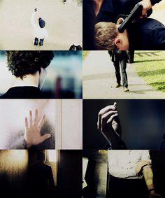 Sherlock BBC. That cinematography...