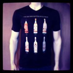 The Bacardi Bottle Evolution @fratellosemmen