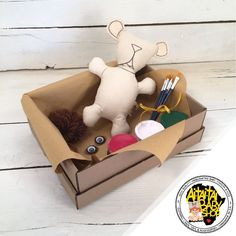 """Just as the title says """"create your own"""" these dolls become unique creations of imaginary minds at work. Baby Shop, Your Favorite, Create Your Own, Teddy Bear, Dolls, Handmade, Crafts, Painting, Products"""