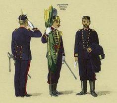 Uniforme dos Oficiais de Engenharia 1889