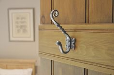 Kirkpatrick 1130 Small Unicorn Coat Hook - Pewter Finish - A high quality, cast iron coat hook. Unsurpassable British quality, hand forged in a foundry in the West Midlands.