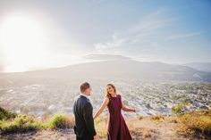 Engagement Session in Santa Barbara, California. Engagement Photos // Couple Photos // Posing Ideas // CeJae Photography