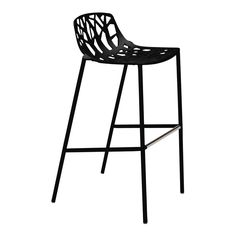 Janus Et Cie Forest Barstool With Low Back - A Striking Silhouette Both playful and elegant, Forest seating evokes the refreshing elements of nature, weaving them into the workplace for . Rooftop Lounge, Elements Of Nature, Low Back, Janus, Global Design, Outdoor Settings, Bar Stools, Branding Design, Sculpture