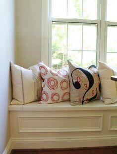 window sill pillows