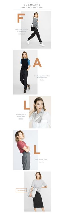 Everlane Fall Email                                                                                                                                                                                 More