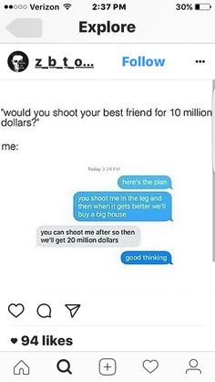 Funny Texts Jokes, Funny Memes Images, Text Jokes, Crazy Funny Memes, Really Funny Memes, Stupid Funny Memes, Funny Laugh, Funny Relatable Memes, Hilarious