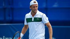 Denis Kudla beat fellow American Mitchell Krueger 6-4, 5-7, 6-0 in the opening round of the Hall of Fame Tennis Championships on Monday....