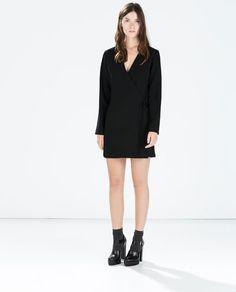 SHORT SARONG JUMPSUIT-Dresses-WOMAN-SALE AW.14   ZARA Canada