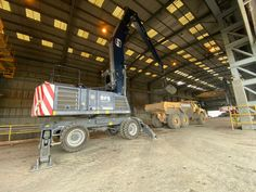 Heavy Equipment, Halle, Construction, Baggers, Building, Hall