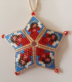 Peyote Beading, 3d, Christmas Ornaments, Holiday Decor, Projects, Home Decor, Easter, Xmas, Xmas Ornaments
