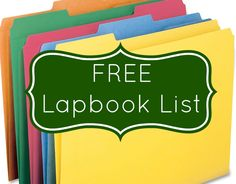 Angela at Earth Mama's World is an eclectic homeschooler whose children love to make lapbooks. Check out Angela's long list of FREE lapbooks!