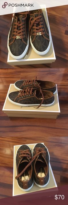 Michael Kors Sneakers Size 10 New in Box MK Sneakers Size 10M Michael Kors Shoes Sneakers