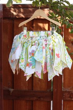 Scrappy Girl Skit with Vintage Linens by LullabyBirds on Etsy, $28.00