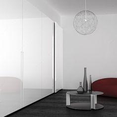 ON LINE - 2. Coplanar System for 2 Large Cabinet Doors for Varying Widths-1