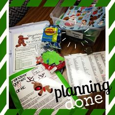 Speech and language planning for December DONE- Let the Christmas fun begin!