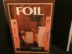 FOIL. Challenging Game of Words and Wits (1968) by CrystalTreasureTrunk on Etsy