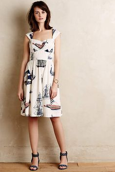 Bon Voyage Dress - anthropologie.com