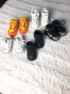 cffcf560182b3a Three pair nike one pair converse all stars a pir rcg all trac size exc  cond. Apryl Dees · Baby Shoes