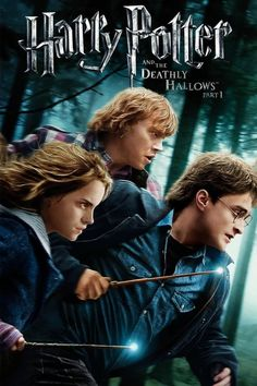 Free Watch Harry Potter And The Deathly Hallows: Part 1 : Online Movies Harry, Ron And Hermione Walk Away From Their Last Year At Hogwarts To. Lord Voldemort, Deathly Hallows Part 1, Harry Potter Deathly Hallows, La Saga Harry Potter, Harry Potter Movies, Emma Watson Movies List, Ron Et Hermione, Avengers Film, Ralph Fiennes