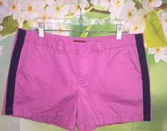 Merona Womens 14 Bubble Gum Pink Flat Front Shorts Cute Target Casual Retired  | eBay