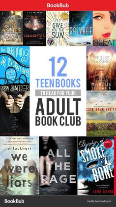 These are 12 teen books worth reading, regardless of whether or not you have a book club!