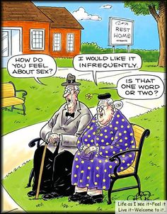 Jack & Jill. Over the hill. | Getting older humor, Old age