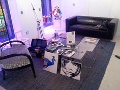 Empezando a organizar la exposición_28 Febrero 2013