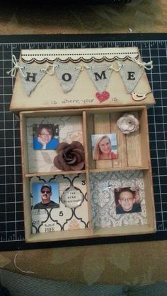 Home is where the heart is - Scrapbook.com