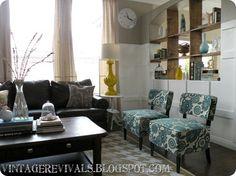 Hailee's Living Room Makeover Reveal - Vintage Revivals