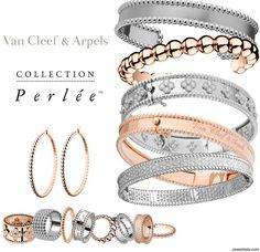 Doncha want some? Van Cleef and Arpels rings and bangles.