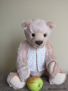 Teddy bear handmade Philip author's toy OOAK by IrinaOnatskaya