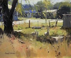 Colley Whisson A Chance Encounter 11''x13''