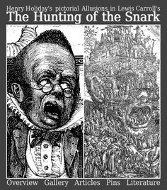 The Hunting of the Snark – Lewis Carroll's, Henry Holiday's and Joseph Swain's Tragicomedy Lewis Carroll, Joseph, Literature, Hunting, Alice, Stone, Gallery, Holiday, Fictional Characters