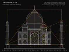 Taj Mahal Plan Drawing Shajahan and muntaj mahal Sacred Architecture, Romanesque Architecture, Cultural Architecture, Education Architecture, Classic Architecture, Architecture Plan, Residential Architecture, Mosque Architecture, Architecture Tattoo