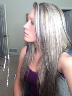 Ash blonde is so my color!