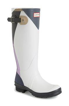 Hunter 'Original Tall - Dazzle' Waterproof Rain Boot