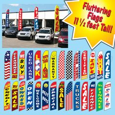 flags for car dealerships